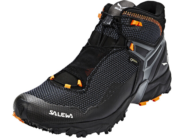 SALEWA Ultra Flex Mid GTX Vaelluskengät Miehet, black/holland